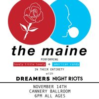 The Maine with Dreamers, NIGHT RIOTS