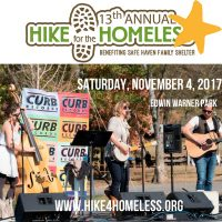 13th Annual Hike for the Homeless