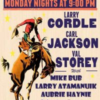 New Monday with Val Storey, Carl Jackson, Larry Cordle and friends