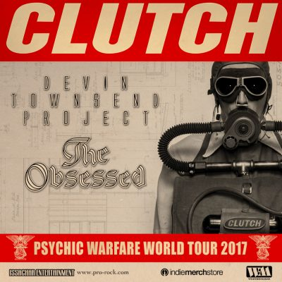 Psychic Warfare World Tour ft. Clutch w/ Devin Townsend Project and The Obsessed