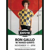 Ron Gallo with Naked Giants