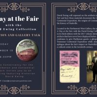 A Day at the Fair with the David Ewing Collection Reception and Gallery Talk