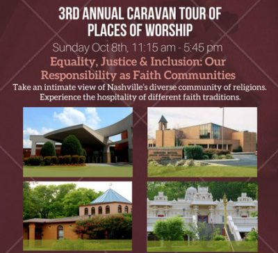 3rd Annual Caravan Tour of Places of Worship