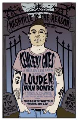 Cemetery Gates Halloween Party ft. Louder Than Bombs Plus DJ Sets From Nashville is he Reason