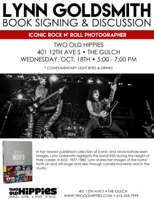 Lynn Goldsmith Book Signing & Discussion