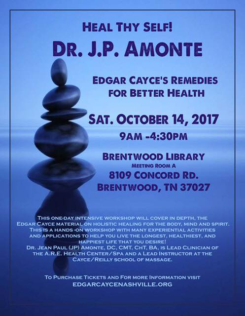 Heal Thyself! Edgar Cayce's Remedies for Better Health with