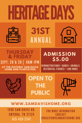 31st Annual Heritage Days