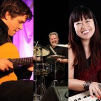 Jeff Hamilton with Akiko Tsuruga and Graham Dechter