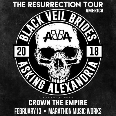 The Resurrection Tour | Black Veil Brides & Asking Alexandria w/ Crown The Empire