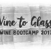 Vine to Glass: Fall Wine Bootcamp 2017