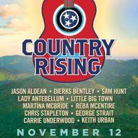 Country Rising | Jason Aldean, Lady Antebellum, Reba McEntire, Chris Stapleton, George Strait + More