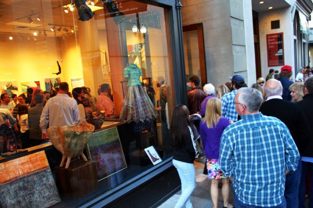 First Saturday Art Crawl in Nashville