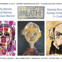 BREATHE: Paintings + Prints by Kathy Wariner, David Wariner and Jessi Zazu Wariner