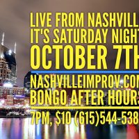 Live from Nashville, It's Saturday Night!