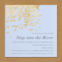 Step into the River   Author Reception