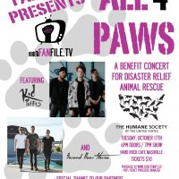 ALL 4 PAWS benefit (Humane Society Diaster Relief) ftg Kid Politics & Second Floor Stereo