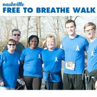 The Lung Cancer Research Foundation's Nashville Free to Breathe 5K and 1-Mile Walk