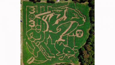 Predators-themed Amazing Mazeless Maze