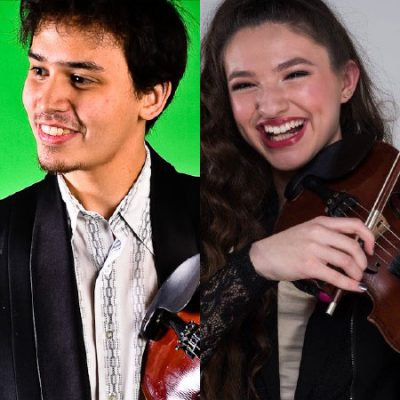 Musician Spotlight: Tyler Andal and Ivy Phillips: Dueling Fiddles