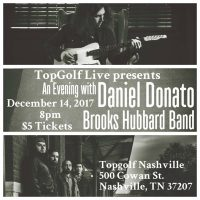 Daniel Donato, Brooks Hubbard Band