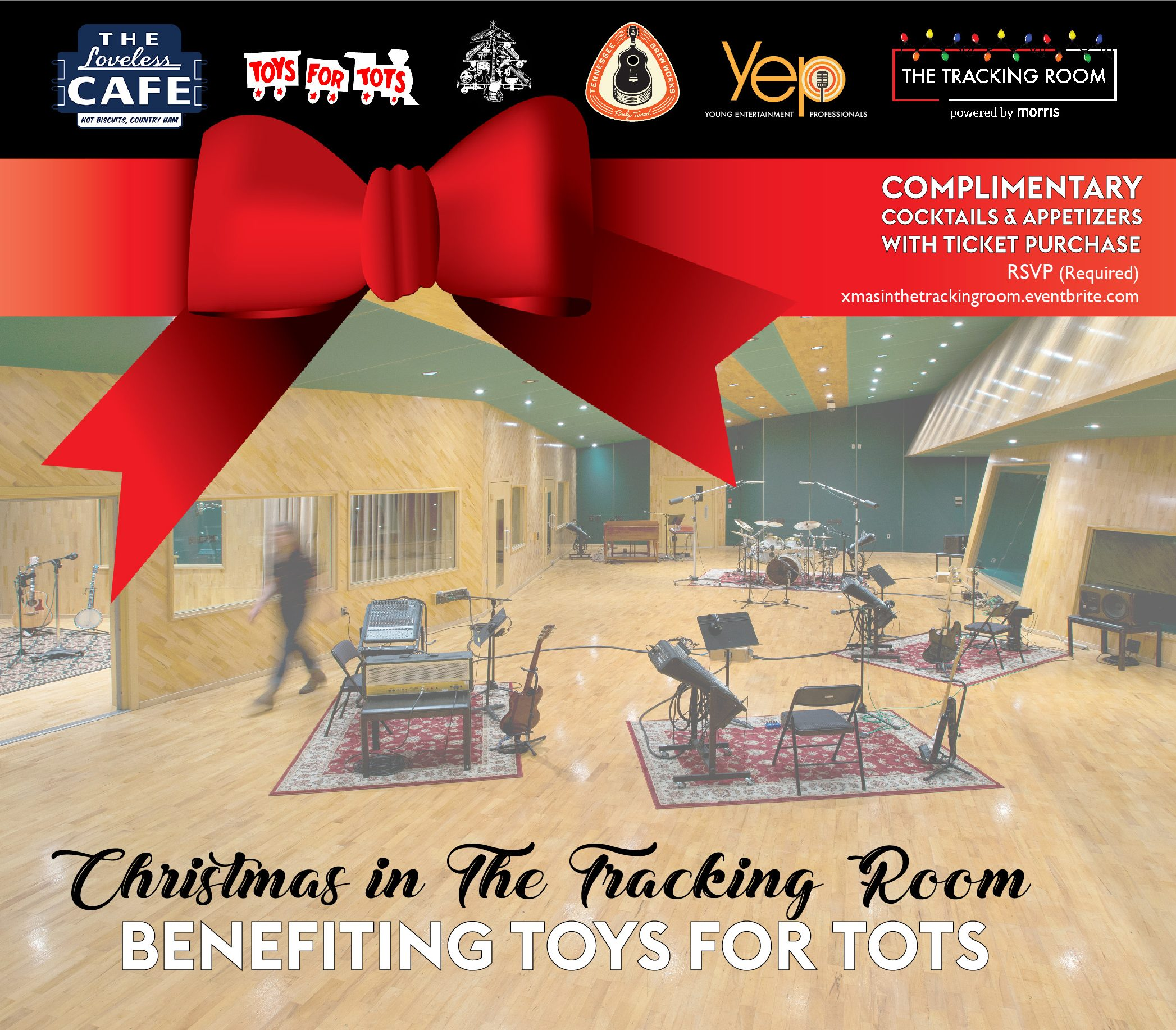 Christmas In The Tracking Room Benefiting Toys For Tots Nowplayingnashville Com