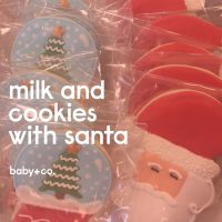 Milk+Cookies with Santa and Mrs. Claus
