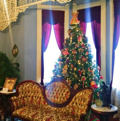Christmas Tours at Falcon Rest Mansion