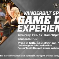 Vandy Spirit Game Day Experience