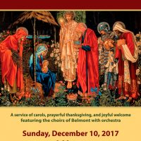 Feast of Lights | A Service of Carols, Prayerful Thanksgiving, and Joyful Welcome