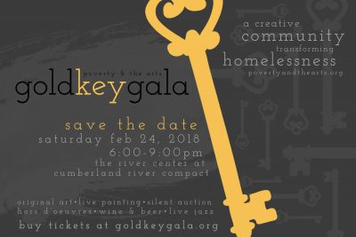 Poverty and the Arts Gold Key Gala