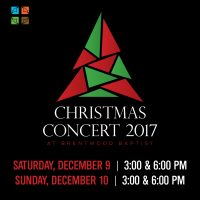 Christmas Concert at Brentwood Baptist