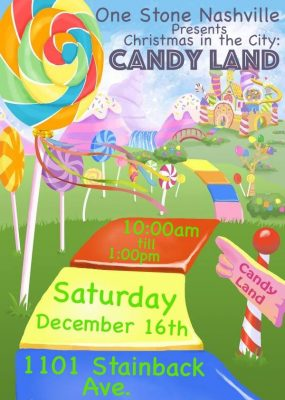"Christmas In the City ""Candy Land"""