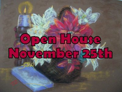 Christmas Open House & Small Business Saturday...