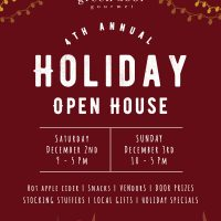 Holiday Open House at the Farm!