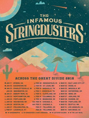 The Infamous Stringdusters | Across The Great Divide Tour 2018