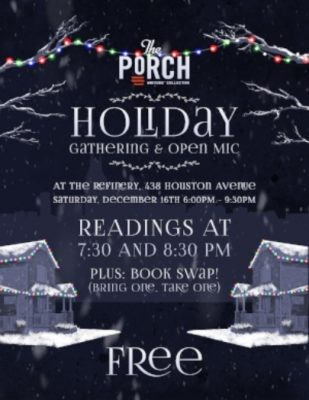 Holiday Gathering & Open Mic