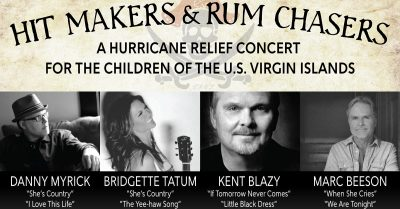 Hit Makers & Rum Chasers: A Hurricane Relief Concert