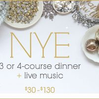 New Year's Eve Dinner, Dancing & Live Music