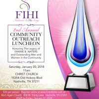 Fashioned In His Image | 2nd Annual Community Outreach Luncheon