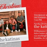 Family Christmas in Franklin featuring The Katinas...
