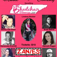 Music & Comedy Benefit | Ms. Wheelchair Tennes...