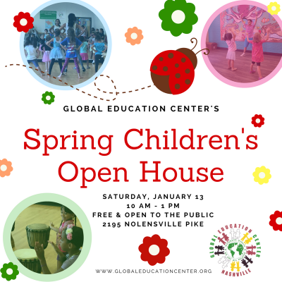 Global Education Center Spring Children's Open House
