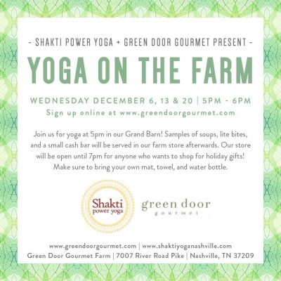 Wellness Wednesdays | Yoga on the Farm