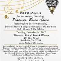 Musicians Hall of Fame Fundraiser Concert