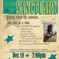 Songs for Sanctuary with Danny Flowers, Emi Sunshine, King Coley and others