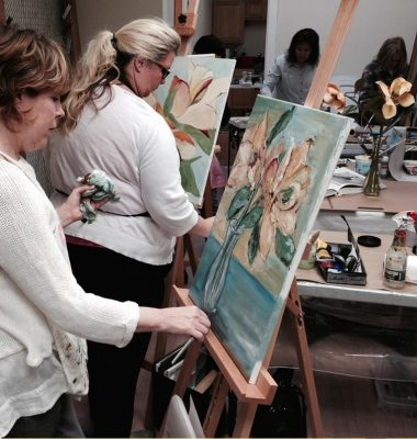 Painting for the Fun of It! With Rachael McCampbell