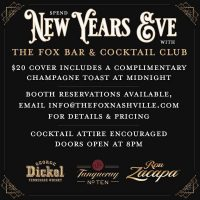 New Year's Eve at The Fox Bar & Cocktail Club