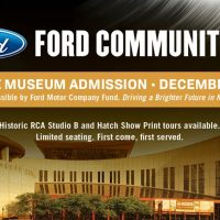 Ford Community Day at The Country Music Hall of Fa...