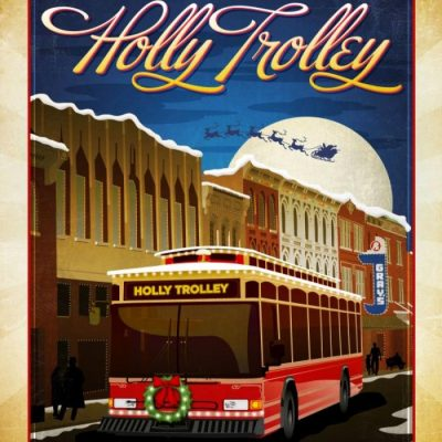 Holly Trolley Lights Tour