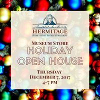 Museum Store Holiday Open House